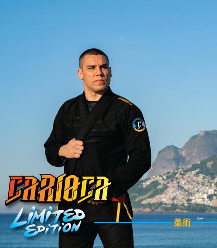 """Kimono GI BJJ Ground Game """"Carioca"""" (Černé)"""