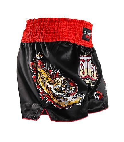 "Kraťasy Muay Thai Ground Game ""Red Tiger"""
