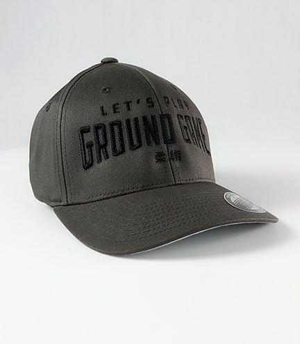 "Kšiltovka  Ground Game  ""Kanji Grey"""