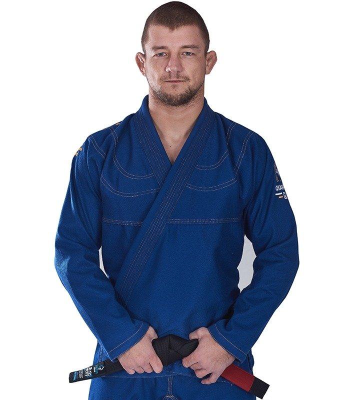 """Kimono GI BJJ  Ground Game """"Champion"""" (Modré) + pásek ZDARMA"""