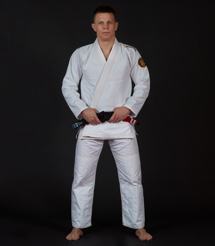 "Kimono Gi BJJ Ground Game ""Champion 2.0"" (Bílé)"