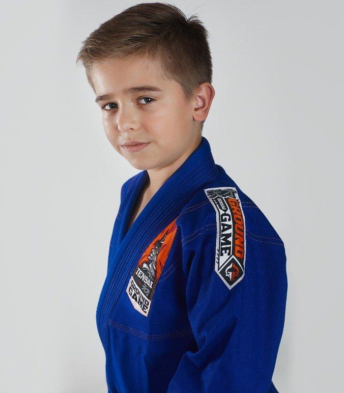 """Kimono Gi BJJ dětské """"Tensai"""" (Modré)"""