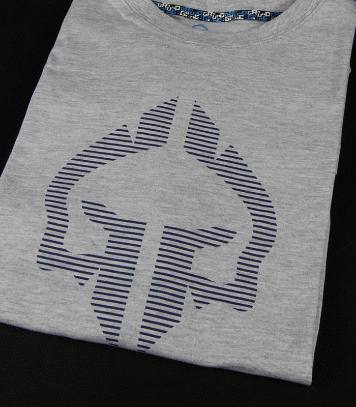 """Pánské tričko Ground Game """"Big Logo"""" šedá"""