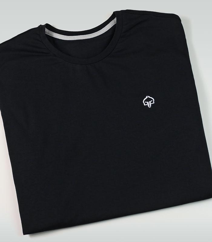 """Pánské tričko Ground Game """"Minimal 2.0"""" Černý"""