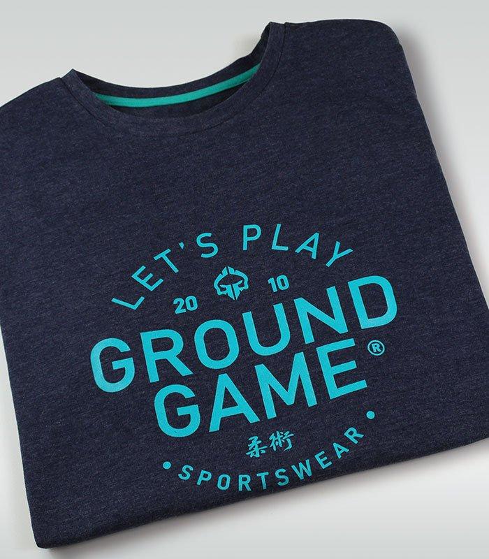 """Pánské tričko Ground Game """"Select"""" Tmavě modré Melange"""