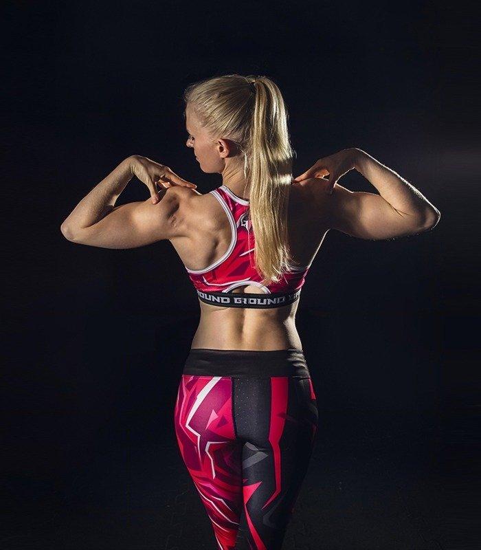 """Sportovní podprsenka """"Pink"""""""