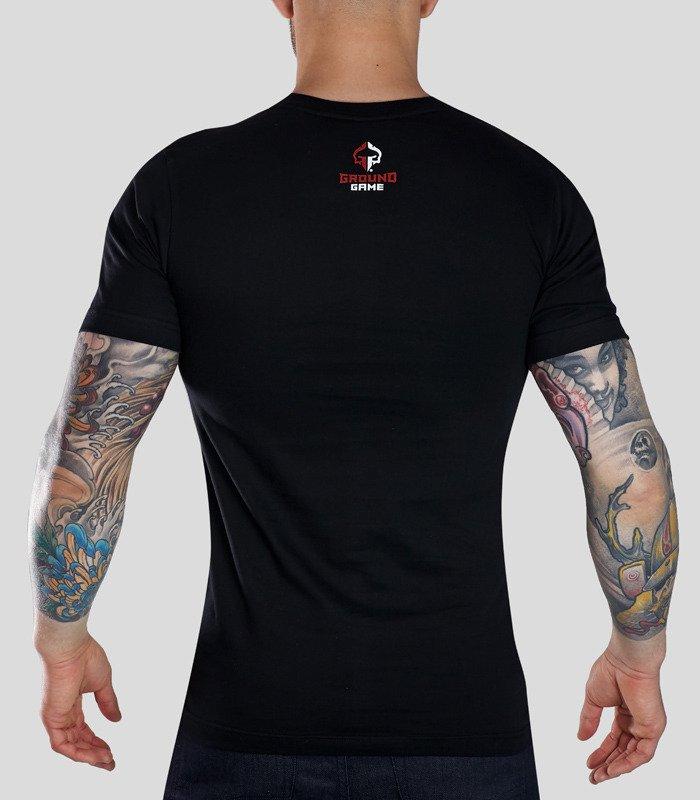 """Pánské tričko Ground Game """"Thai Style"""" černé"""