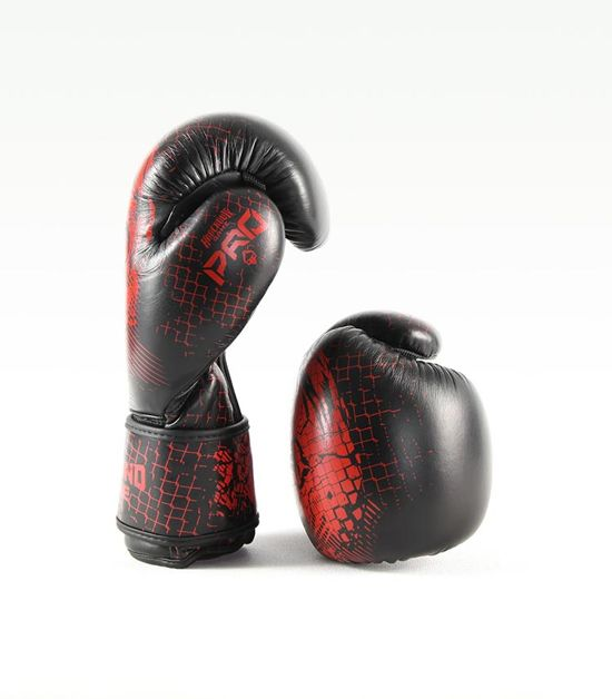 "Boxerské rukavice PRO Ground Game ""Red Skull"" 10 oz"