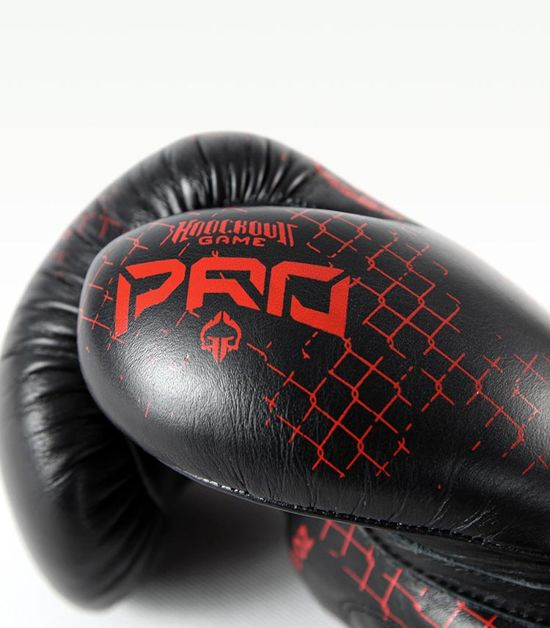 "Boxerské rukavice PRO Ground Game ""Red Skull"" 12 oz"