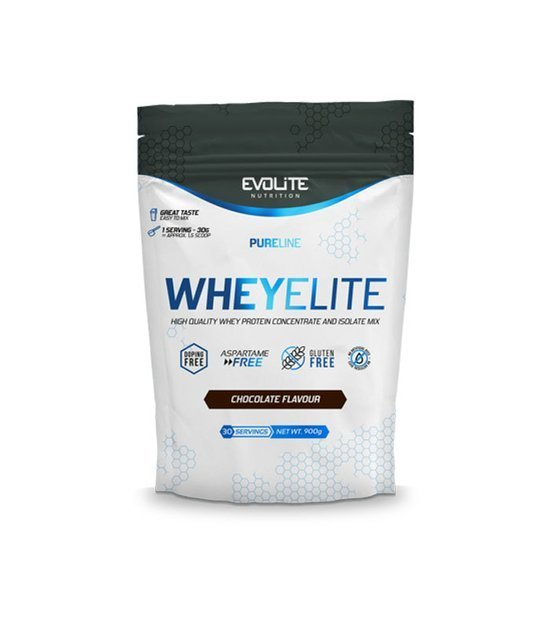 Evolite WheyElite 900g, Chocolate