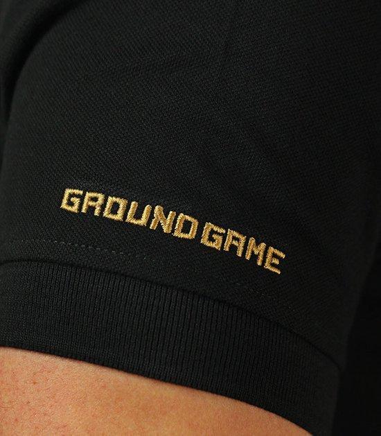 """Ground Game polokošile """"Jiteiro"""" černá"""