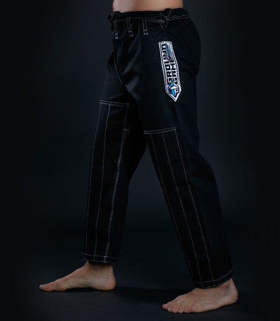 "Kimono Gi BJJ  Ground Game ""Player"" (Černé)"