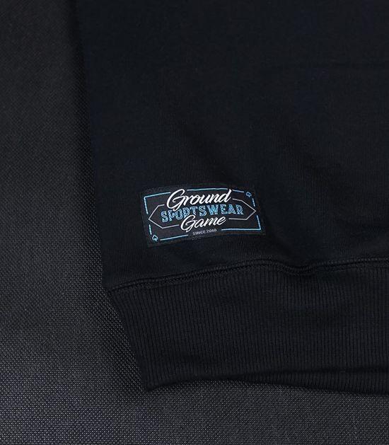 "Pánská mikina Ground Game ""Mini Logo"" černá"
