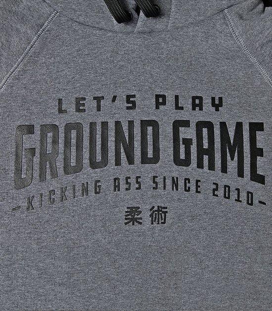 """Pánská mikina s kapucí """"Ground Game"""""""