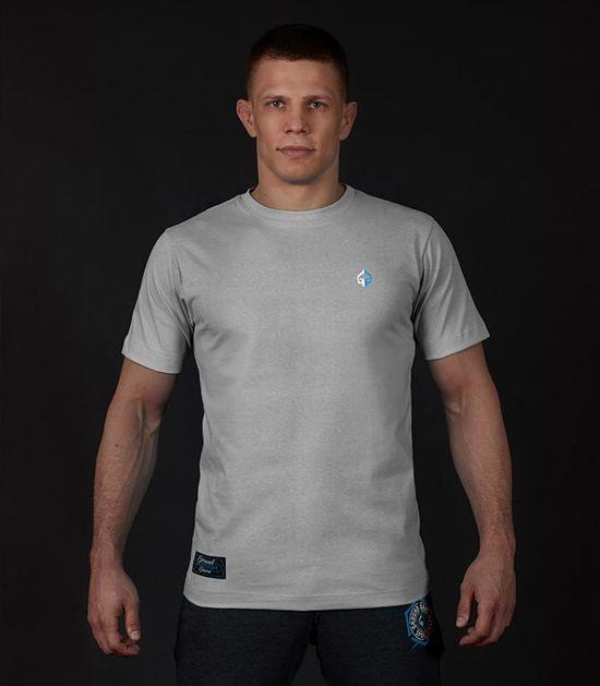 """Pánské tričko Ground Game """"Minimal"""" šedá"""