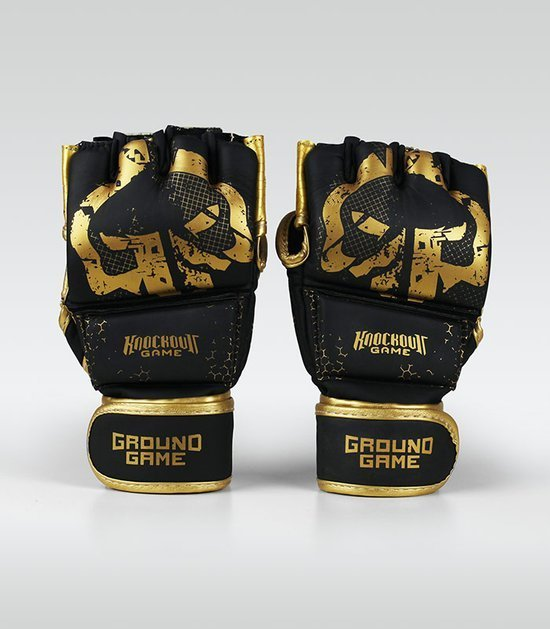 "Rukavice MMA Ground Game ""Cage Gold"""