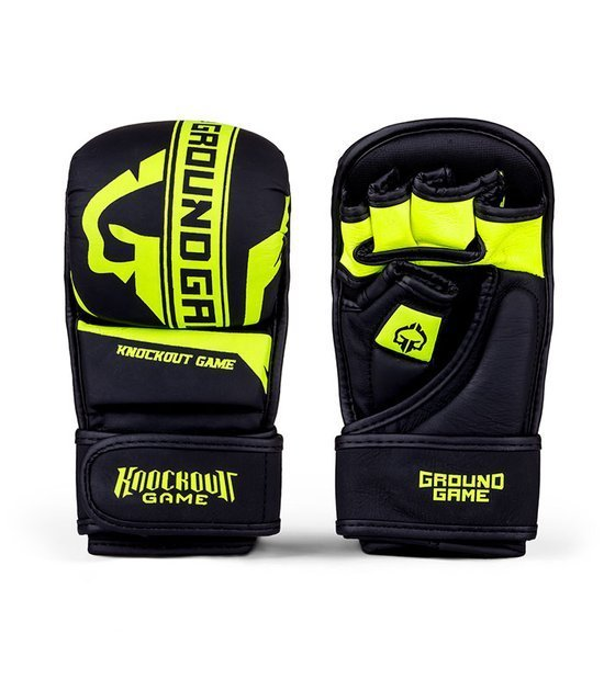 "Tréninkové rukavice MMA ""Stripe Neon"""