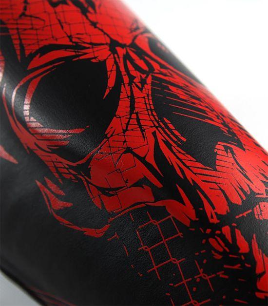 """Shin Guards """"Red Skull"""""""