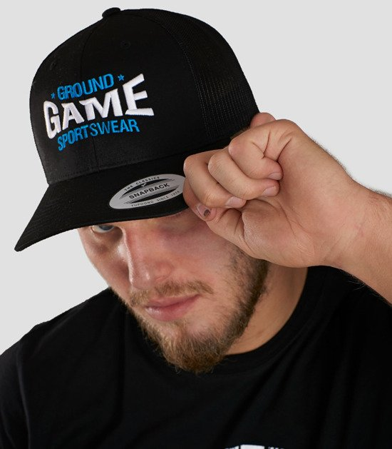 """Cap """"Game"""" with a rounded brim"""