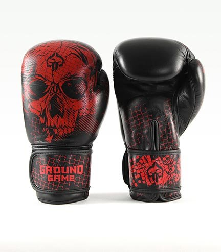"Boxing Gloves PRO ""Red Skull"" 16 oz"