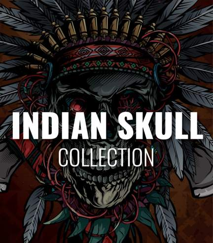 "Collection ""Indian Skull"""