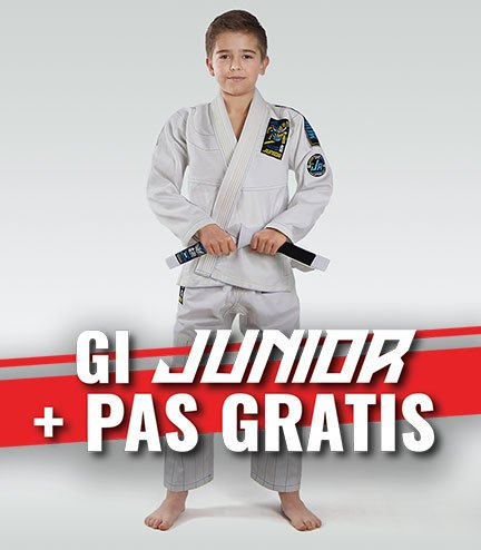 """Junior 3.0"" BJJ Kids GI (White) + FREE Belt"