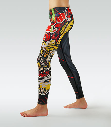 "Leggings ""Red Tiger Kids"""