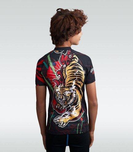 "Rashguard ""Red Tiger Kids"" short sleeve"