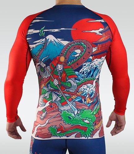 "Rashguard  ""Tatakai"" long sleeve"