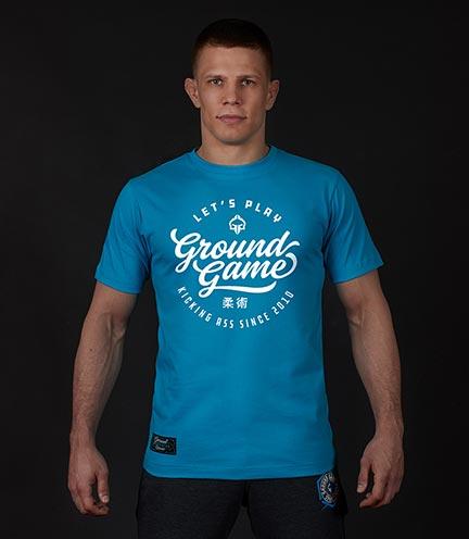 """T-shirt """"Gamester"""" Blue"""