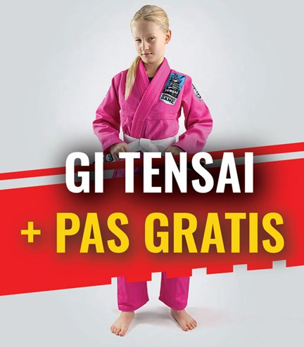"""Tensai"" BJJ Kids GI (Pink) + FREE Belt"