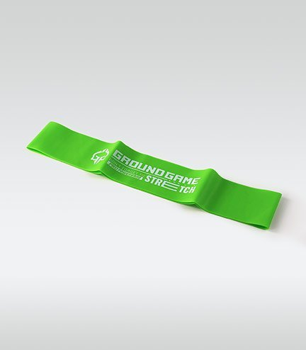 Training / resistance Mini Band (Green, 0.8 mm, 11-18 kg)