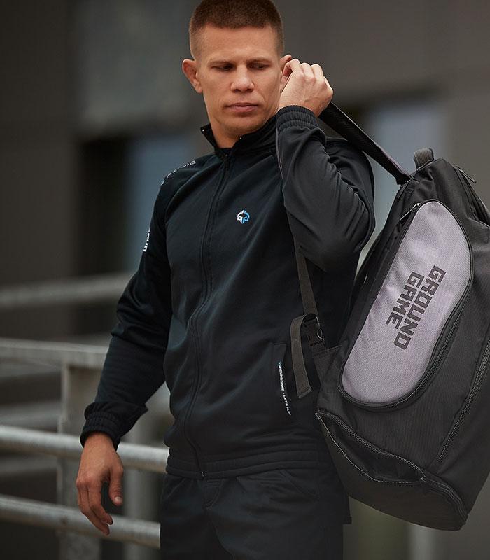 "Crewneck with zipper ""Prime 2.0"""