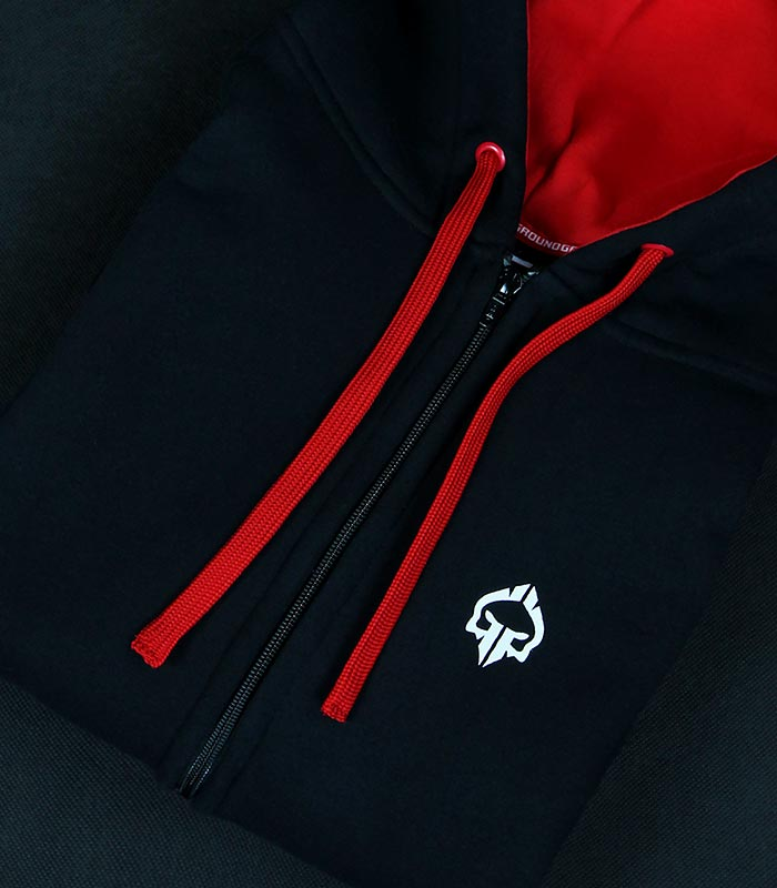 "Hoodie with zipper ""Mini Logo 2"""