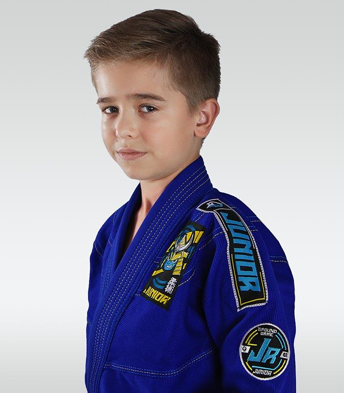 """Junior 3.0"" BJJ Kids GI (Blue) + FREE Belt"