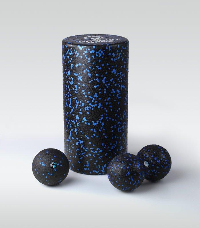 "Massage set ""Ground Game"" (Roller + Ball + Duoball)"