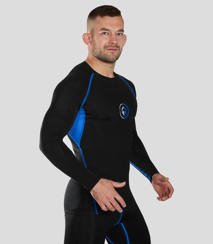 "Rashguard ""Athletic 2.0"" long sleeve (Black)"
