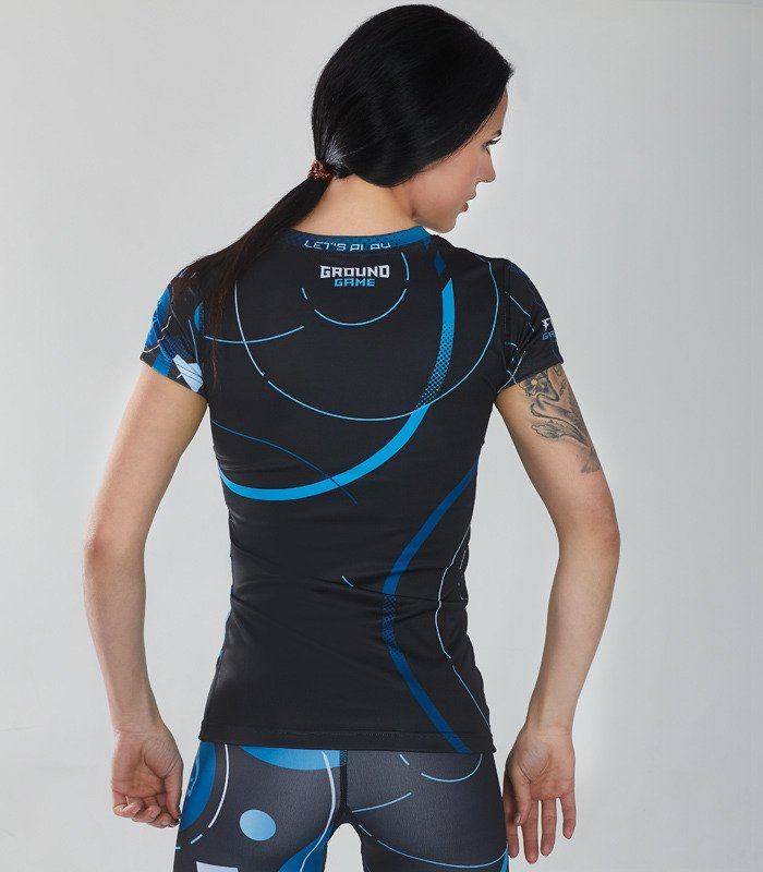 "Rashguard ""Circles"" short sleeve"