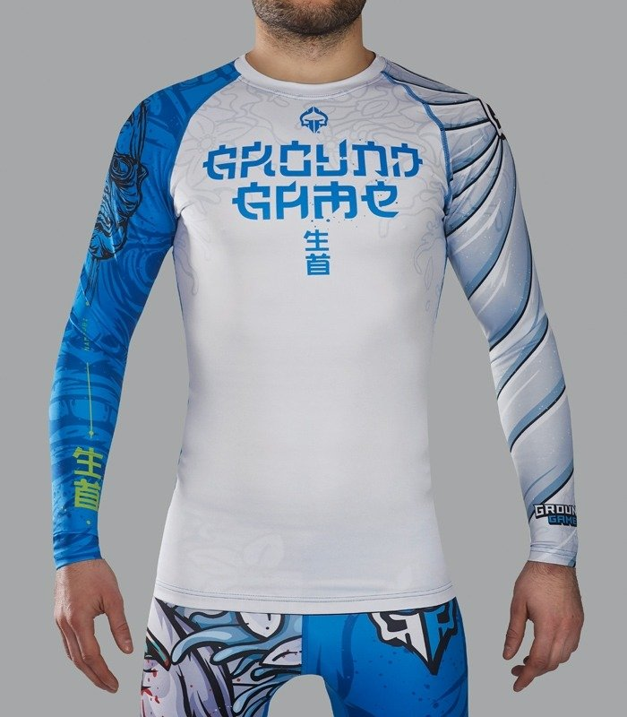 "Rashguard ""Namakubi"" long sleeve"