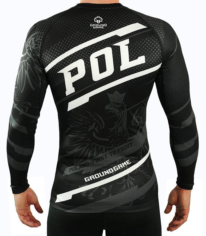 "Rashguard ""Poland"" long sleeve"