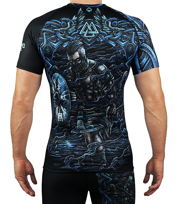 "Rashguard ""Viking"" short sleeve"