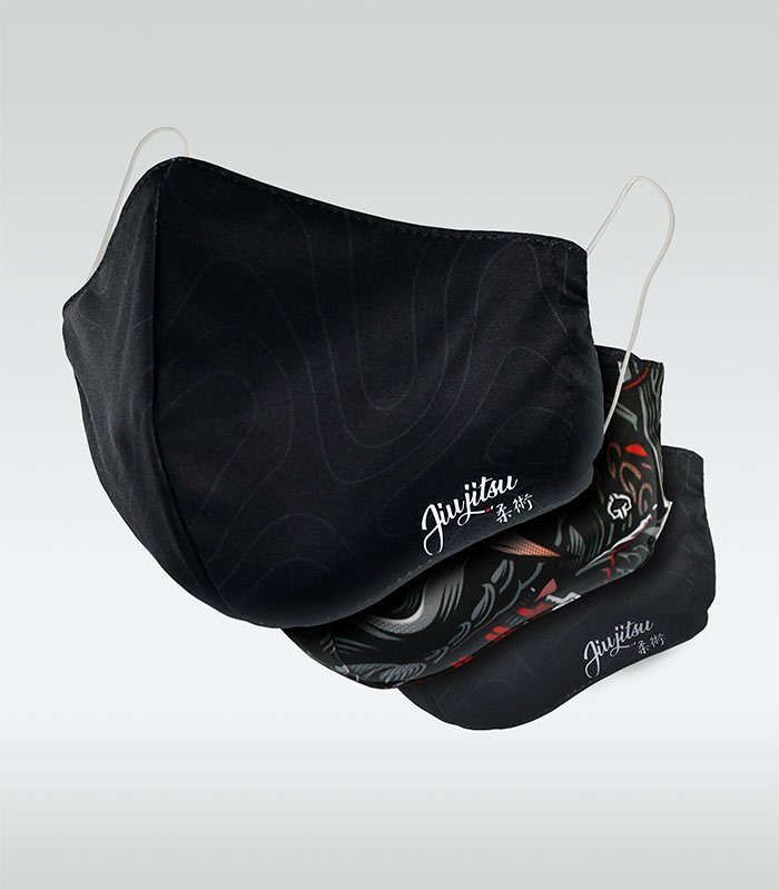 Set of 3x protective masks (polyester)