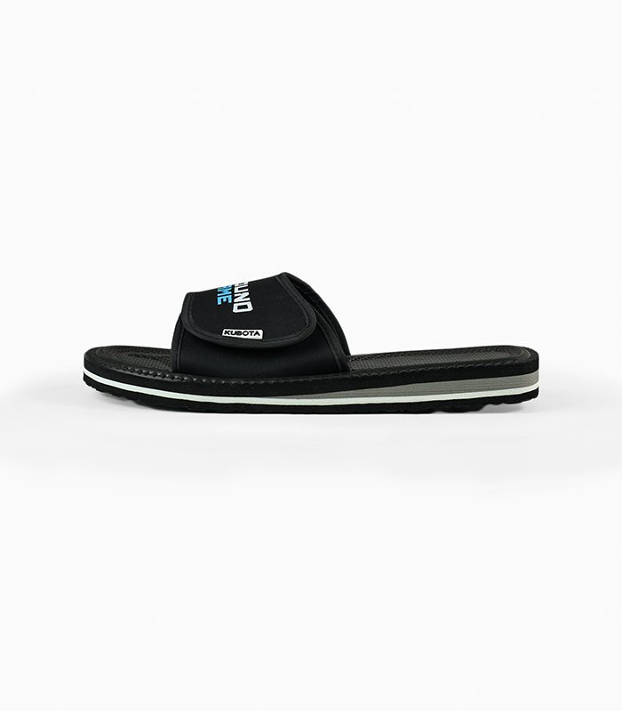 Slides Kubota x Ground Game (Black)