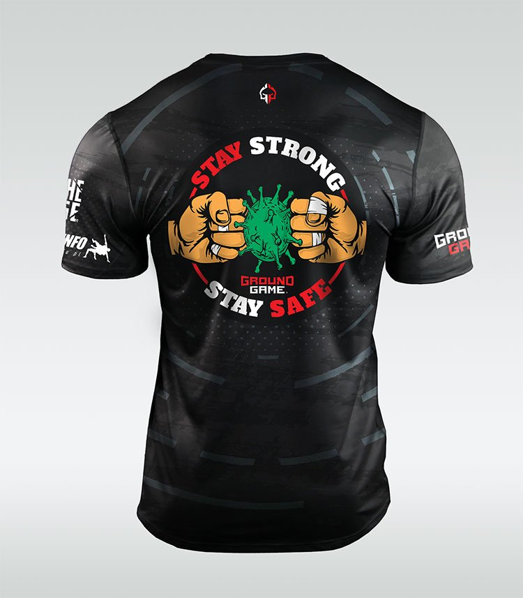 "Training t-shirt ""Fighters Against Corona"""