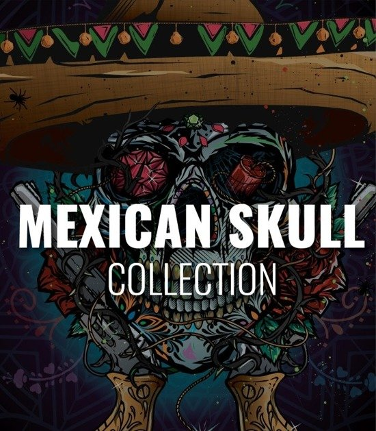 "Collection ""Mexican Skull"""