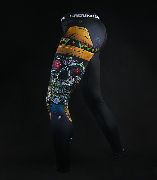 "Leggings ""Mexican Skull"""