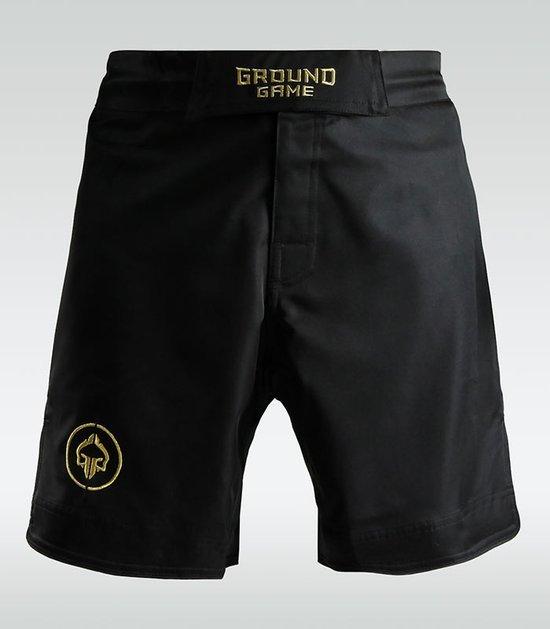 "MMA Shorts ""Athletic Gold"""