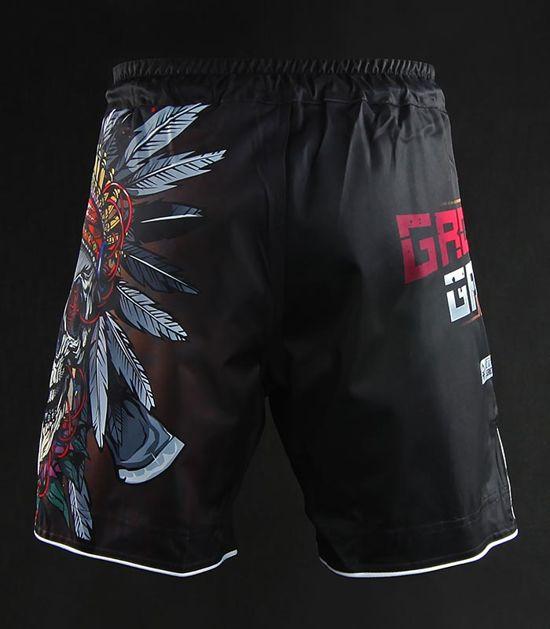 "MMA Shorts ""Indian Skull"""