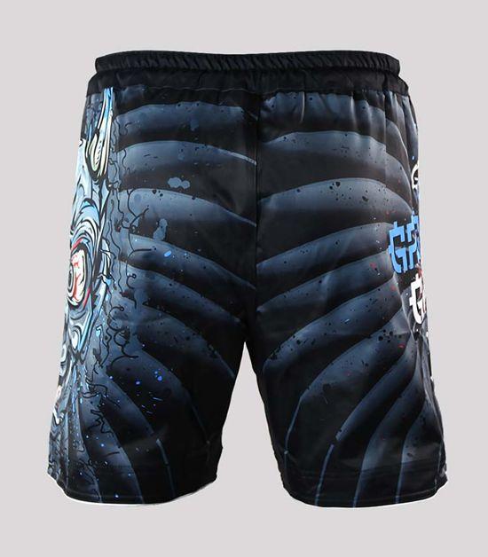 "MMA Shorts ""Oni Black"""