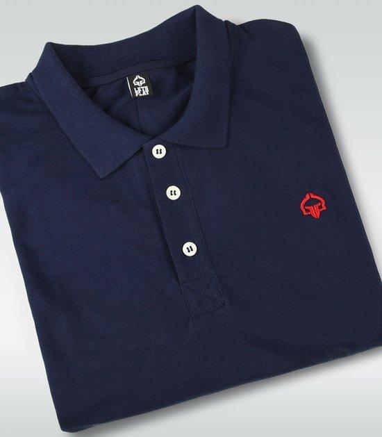 """Minimal"" Polo Navy Blue"